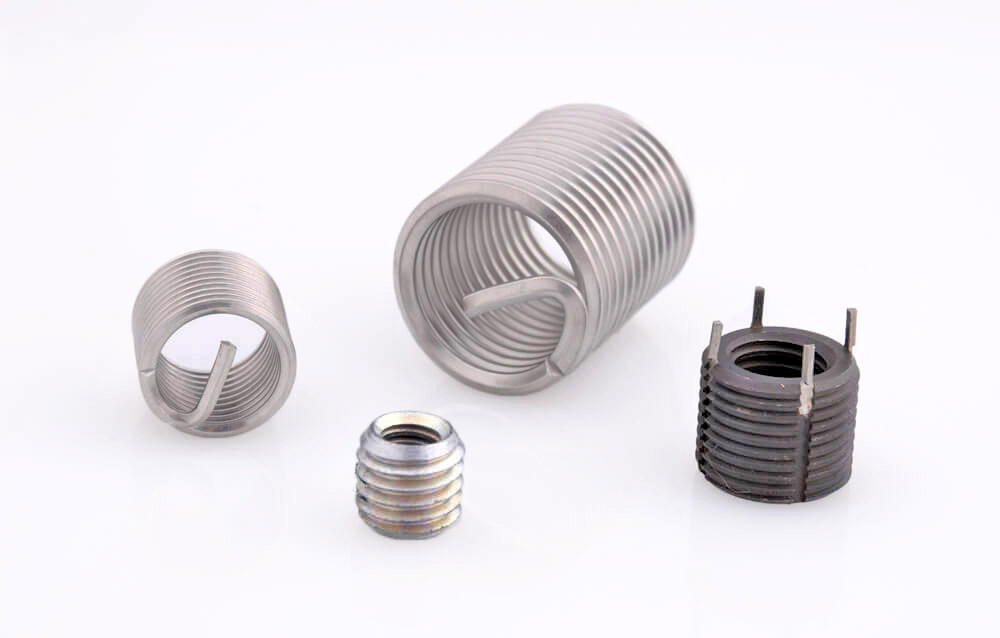 Pipe Plugs, Threaded Inserts for Sheet Metal, Aluminum